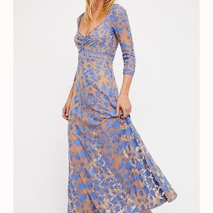 For Love And Lemons Temecula x Lace Maxi Dress